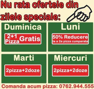 Pizza craiova oferte speciale